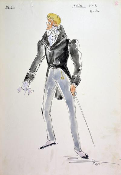 Peter I. Tchaikovsky: Eugene Onegin. Sketch 3