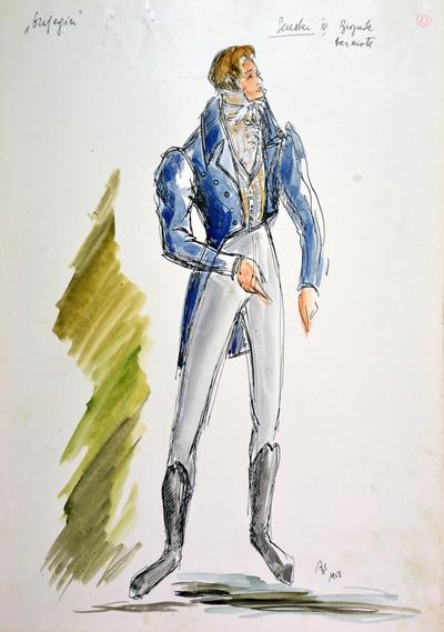 Peter I. Tchaikovsky: Eugene Onegin. Sketch 6