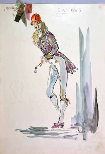 Peter I. Tchaikovsky: Eugene Onegin. Sketch 7