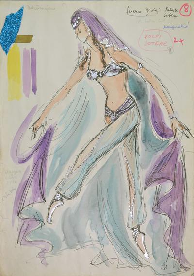 Boris Asafiev: The Fountain of Bakhchisarai: Ballet. Sketch 4