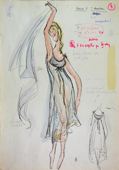 Boris Asafiev: The Fountain of Bakhchisarai: Ballet. Sketch 7