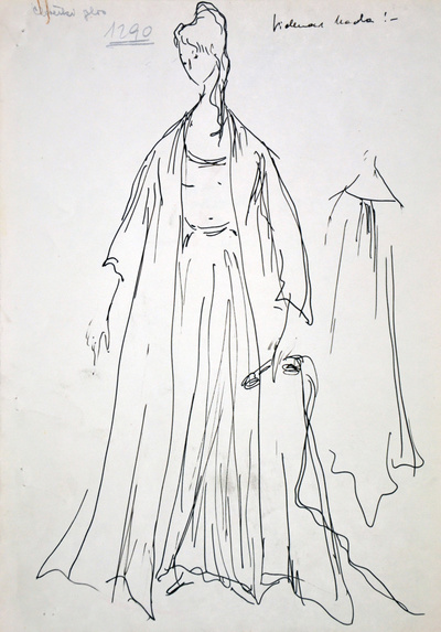 Francis Poulenc:The Human Voice. Sketch 1