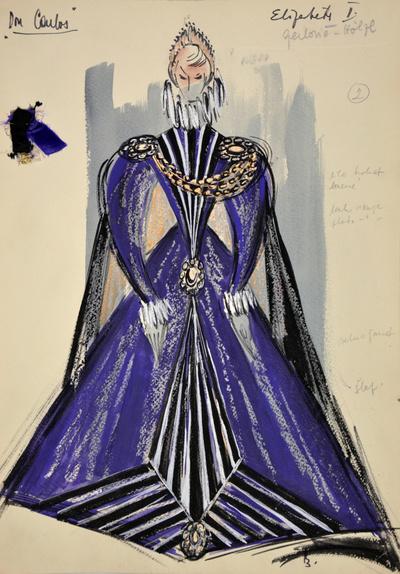 Giuseppe Verdi: Don Carlos. Sketch 2