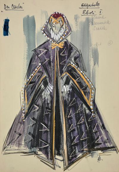 Giuseppe Verdi: Don Carlos. Sketch 3