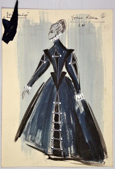 Giuseppe Verdi: Don Carlos. Sketch 5