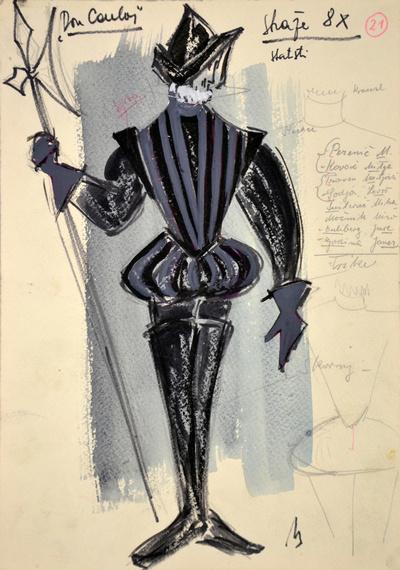 Giuseppe Verdi: Don Carlos. Sketch 10