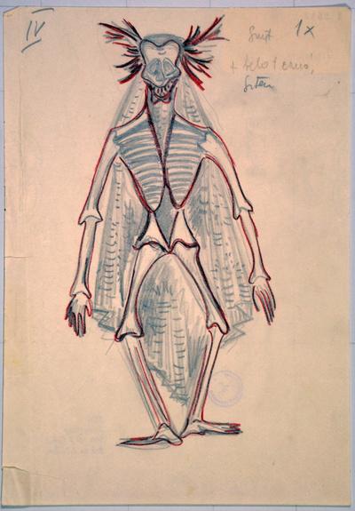Slavko Osterc: Illusions. Sketch 1