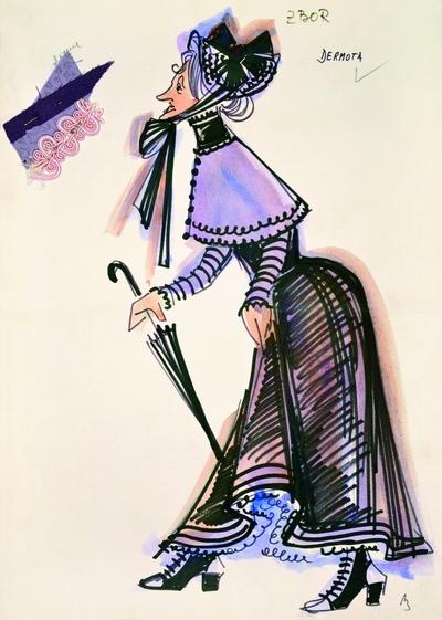 Gaetano Donizetti: Viva la mamma (Conventions and Inconveniences of the Stage). Sketch 6