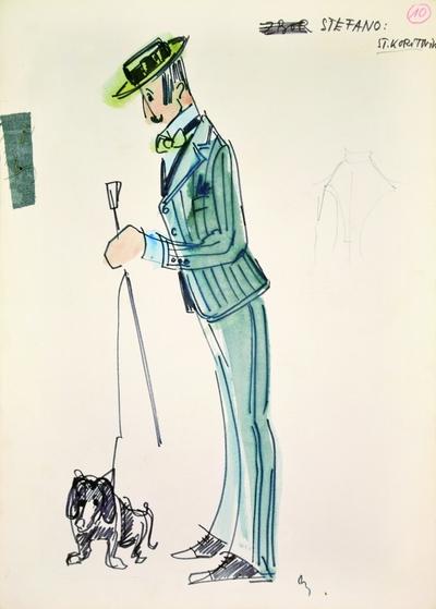 Gaetano Donizetti: Viva la mamma (Conventions and Inconveniences of the Stage). Sketch 8
