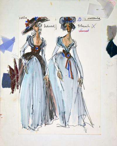 Umberto Giordano: André Chénier. Sketch 1