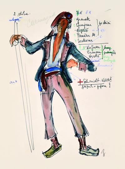 Umberto Giordano: André Chénier. Sketch 2