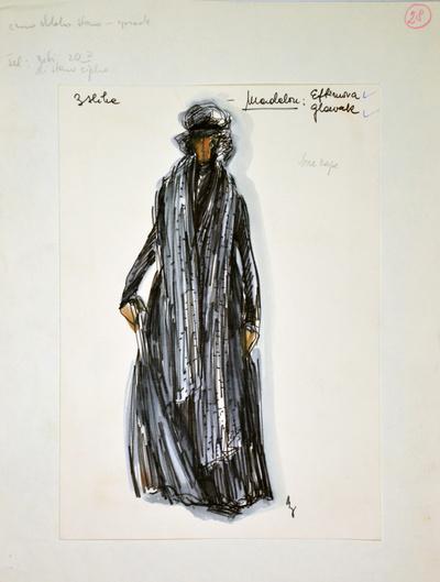 Umberto Giordano: André Chénier. Sketch 4