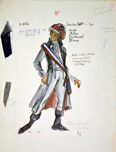 Umberto Giordano: André Chénier. Sketch 5