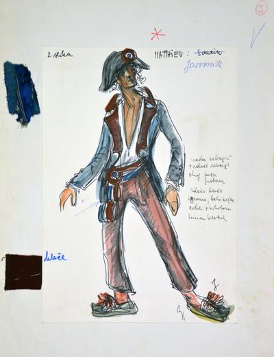 Umberto Giordano: André Chénier. Sketch 6