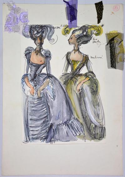 Umberto Giordano: André Chénier. Sketch 8
