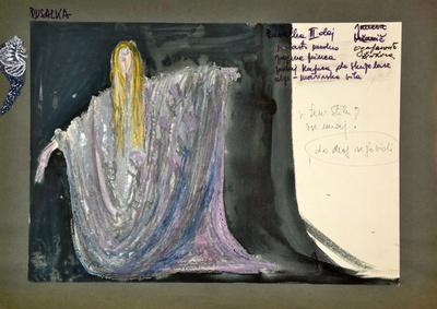 Antonín Dvořák: Rusalka. Sketch 13
