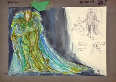 Antonín Dvořák: Rusalka. Sketch 14