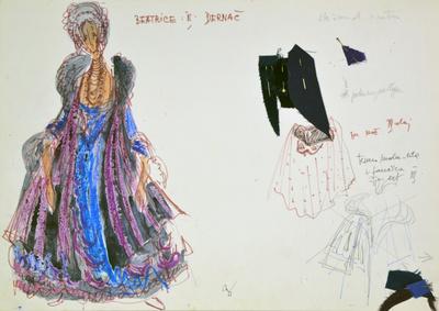 Ermanno Wolf-Ferrari: Inquisitive Women. Sketch 3