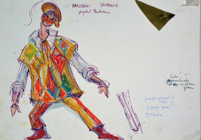 Ermanno Wolf-Ferrari: Inquisitive Women. Sketch 5
