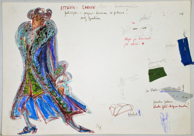 Ermanno Wolf-Ferrari: Inquisitive Women. Sketch 7