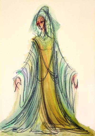 Paul Claudel: The Tidings Brought to Mary. Sketch 2
