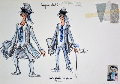 Jani Golob: Krpan's Mare. Sketch 1
