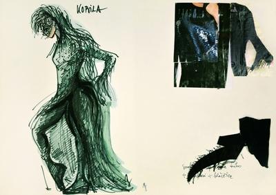 Jani Golob: Krpan's Mare. Sketch 2
