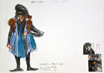 Jani Golob: Krpan's Mare. Sketch 8