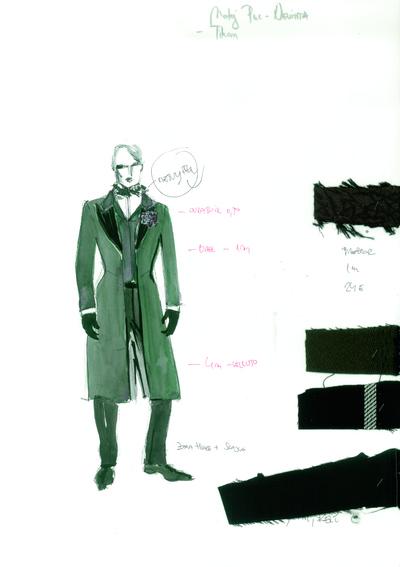 Nevihta, MGL, 2011. Kostumska skica 6