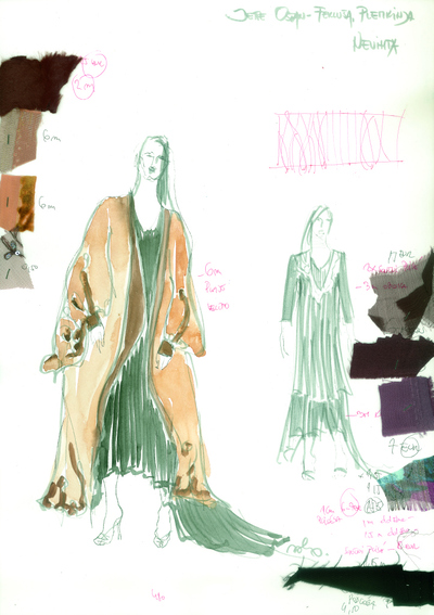 Nevihta, MGL, 2011. Kostumska skica 11