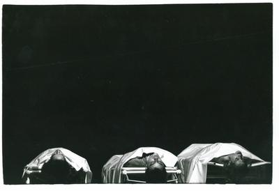 Heiner Müller, Opustošena obala / Medeja kot material / Pokrajina z argonavti, Eksperimentalno gledališče Glej, 1987/1988