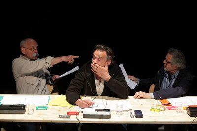 Herman Melville, Bartleby, pisar, Mini teater Ljubljana, 2010/2011. Fotografija 2