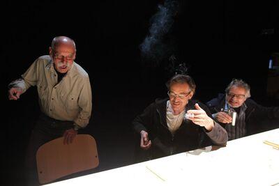 Herman Melville, Bartleby, pisar, Mini teater Ljubljana, 2010/2011. Fotografija 10