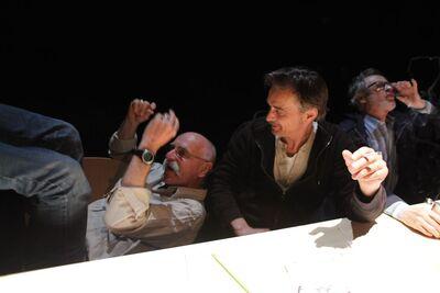 Herman Melville, Bartleby, pisar, Mini teater Ljubljana, 2010/2011. Fotografija 11