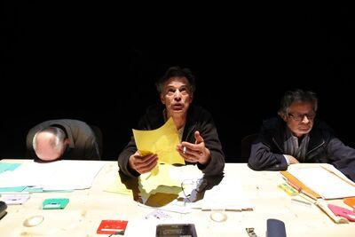 Herman Melville, Bartleby, pisar, Mini teater Ljubljana, 2010/2011. Fotografija 12