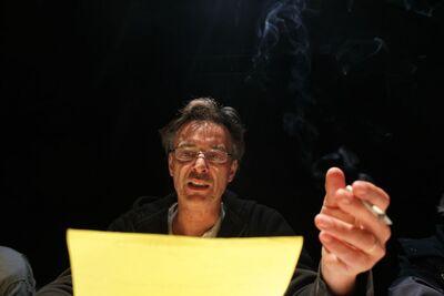 Herman Melville, Bartleby, pisar, Mini teater Ljubljana, 2010/2011. Fotografija 14
