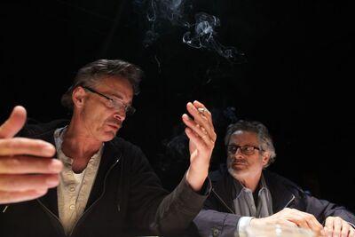 Herman Melville, Bartleby, pisar, Mini teater Ljubljana, 2010/2011. Fotografija 16
