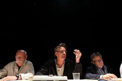 Herman Melville, Bartleby, pisar, Mini teater Ljubljana, 2010/2011. Fotografija 18