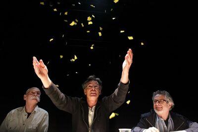 Herman Melville, Bartleby, pisar, Mini teater Ljubljana, 2010/2011. Fotografija 21
