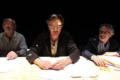 Herman Melville, Bartleby, pisar, Mini teater Ljubljana, 2010/2011. Fotografija 22