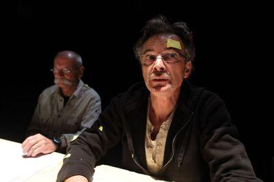 Herman Melville, Bartleby, pisar, Mini teater Ljubljana, 2010/2011. Fotografija 23