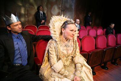Heiner Müller, William Shakespeare, Stroj Hamlet, Drama SNG Maribor, 2005/06. Fotografija 128