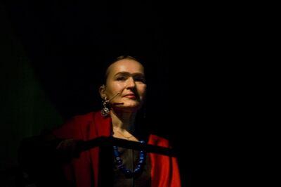 Slavenka Milovanović Pregelj, Ivana Vujić, Intimni avtoportret Fride Kahlo, Drama SNG Maribor, 2007/08. Fotografija 136