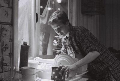 Eugene O'Neill, Pred zajtrkom, AGRFT, 1976/77. Fotografija 106