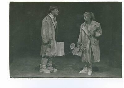 Stefan Schütz, Fragment o Kleistu, Gledališče Glej, 1988/89. Fotografija 1