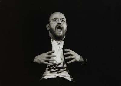 Wilhelm Reich, Govor malemu človeku, Gledališče Ptuj, 1995/96. Fotografija 120