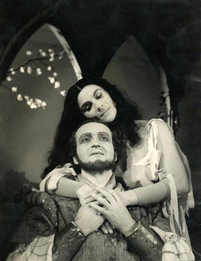 Christopher Fry, Gospa ne bo zgorela, Mestno gledališče v Ljubljani, 1954/55