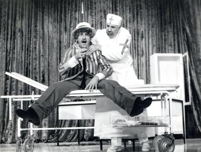 Neil Simon, Večna mladeniča, Mestno gledališče ljubljansko, 1975/76
