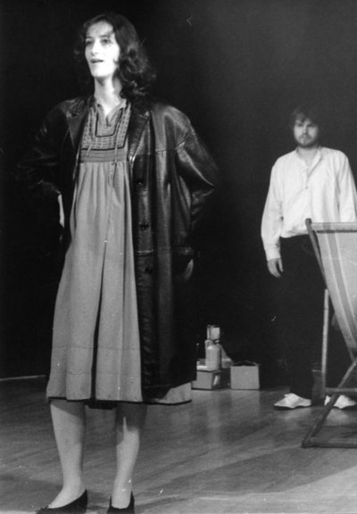 Harold Pinter, Stari časi, Akademija za gledališče, radio, film in televizijo, 1981/82. Fotografija 55