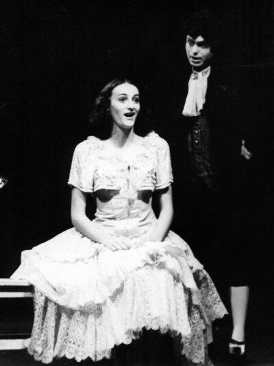 Jean-Baptiste Poquelin Molière, Šola za žene, Akademija za gledališče, radio, film in televizijo, 1980/81. Fotografija 56